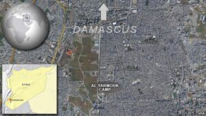 Syria says only 6,000 residents remain in Damascus camp