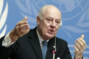 U.N. confirms new push for Syria talks, Iran to be invited