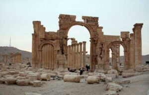 Islamic State destroys ancient shrines in Syria's Palmyra city
