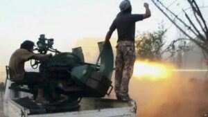 Syria crisis: US-trained rebels give equipment to al-Qaeda affiliate