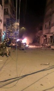 An Armed Group Launched an Attack on the Central Christion Neighborhood in Qamishlo City in Kurdistan of Syria