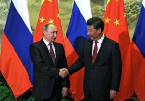 Russia secures energy deals, talks security with China as Putin visits