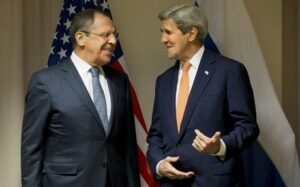 Kerry meets with Lavrov to finalize bilateral deal on Syria