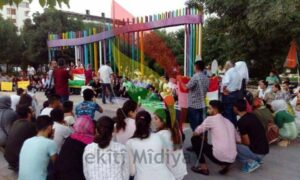 Azadea Kurdistan Party   solidarity with Qamishlo city massacre.